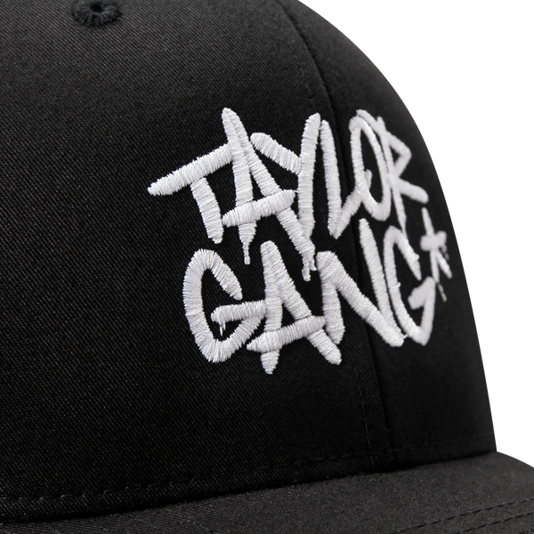 Team Logo Black Trucker