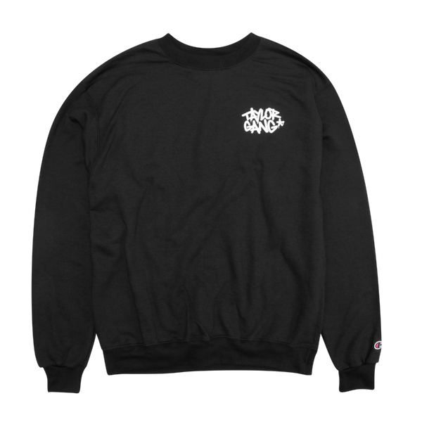 Team Crewneck in Black