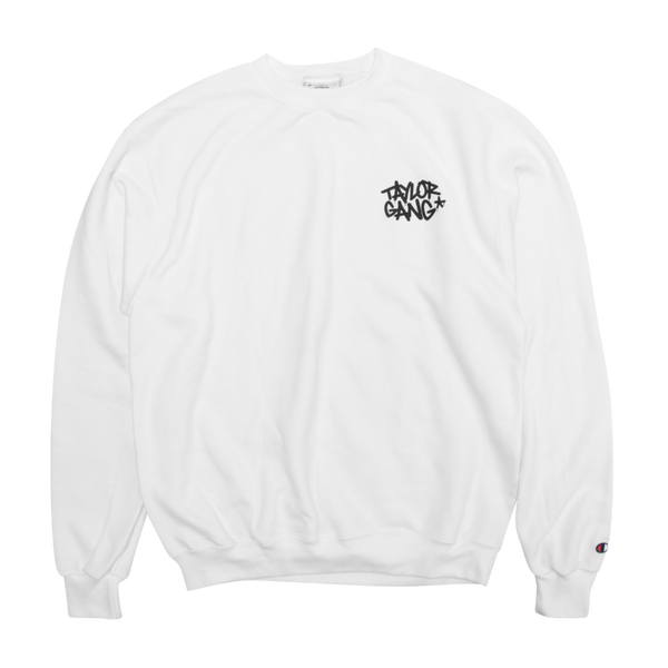 Team White Crewneck Champion