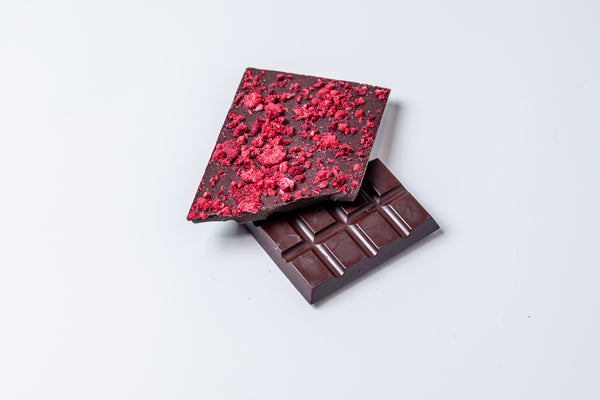 Dark Chocolate Raspberry Bar