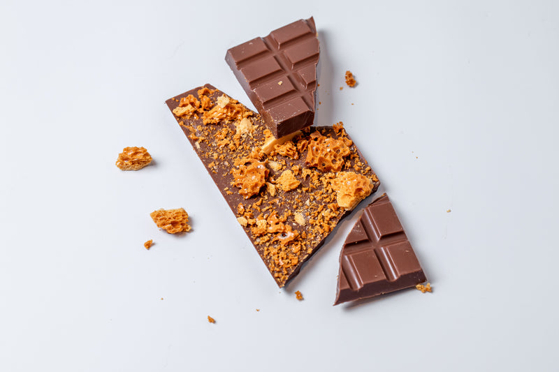 Milk Chocolate Honeycomb Bar