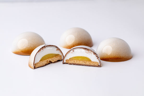 Lemon Meringue Marshmallow Domes