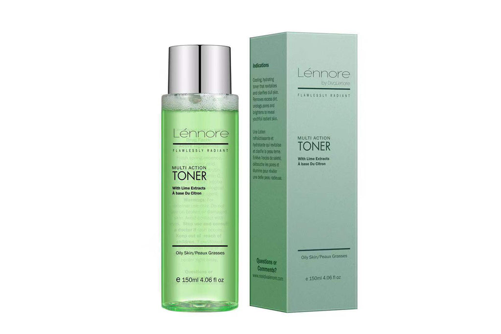 Lénnore Multi-Action Lime Toner - Diva Lenore Cosmetics