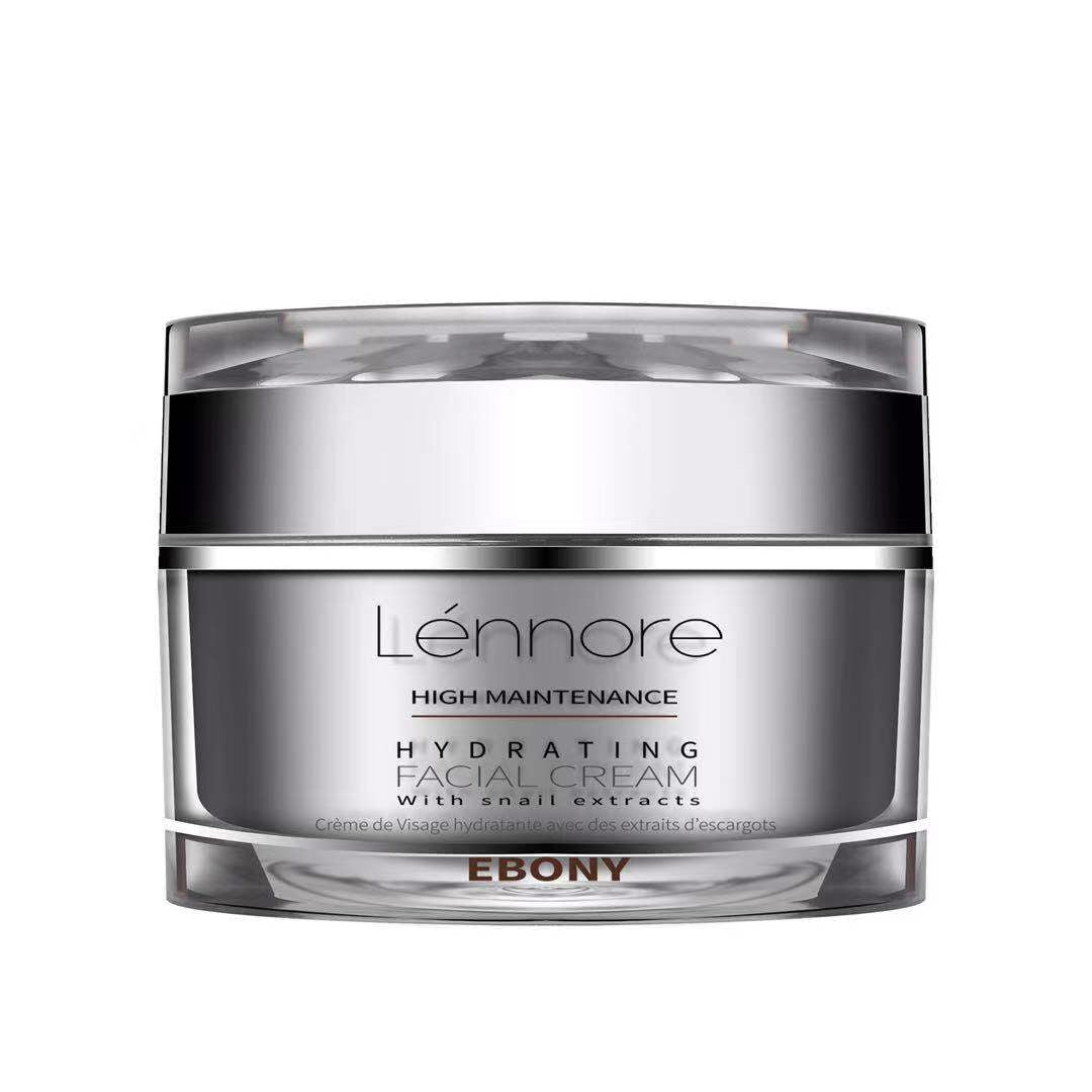 Lénnore Hydrating Facial Cream – Ebony - Diva Lenore Cosmetics