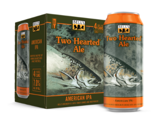 Bell's Two Hearted IPA 4 Pack, 16 oz