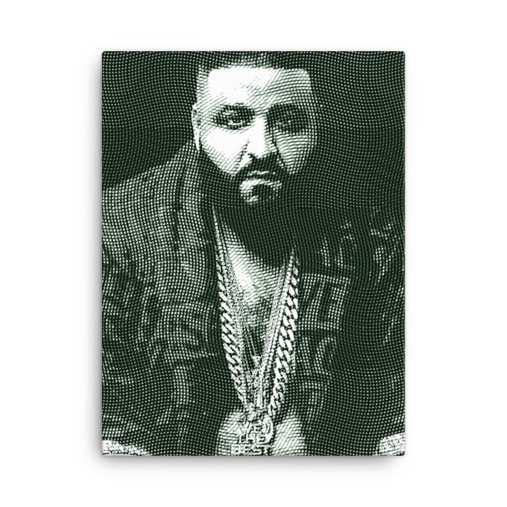 Personalized  Money  Portrait Canvas - Yes Art Me