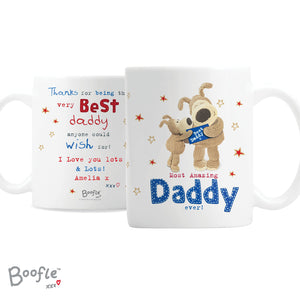 Personalised Boofle Most Amazing Daddy Mug