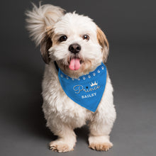 Load image into Gallery viewer, Personalised Prince Dog Bandana