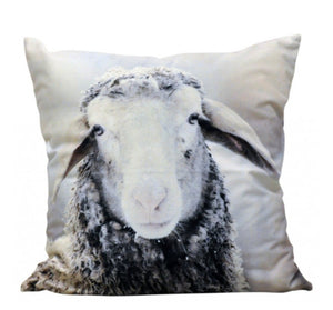Winter Sheep Cushion   45cm  x 45cm