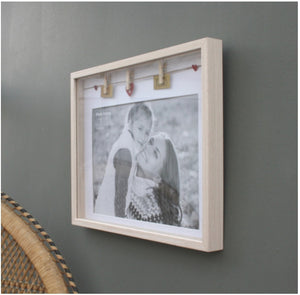 Box A4 Photo Frame - Hugs And Kisses (VERY Limited Stock)