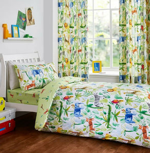 JUNGLE Bedding - Available in Junior and Single Only.