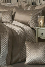 Load image into Gallery viewer, Olivia Rocco 7 Piece 'Kylie' Duvet Cover Set Comforter Bedding Complete Bedroom Set - Mink