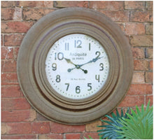 Load image into Gallery viewer, Large Rustic Clock 75cm