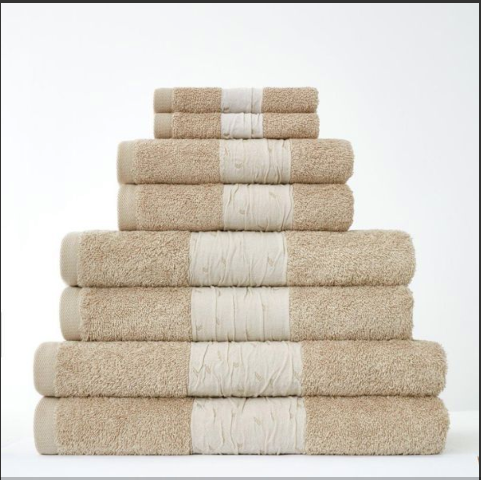 100% PURE COTTON Bainsford Towels 600gsm