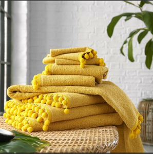 POM POM TOWELS 600gms 100% COTTON