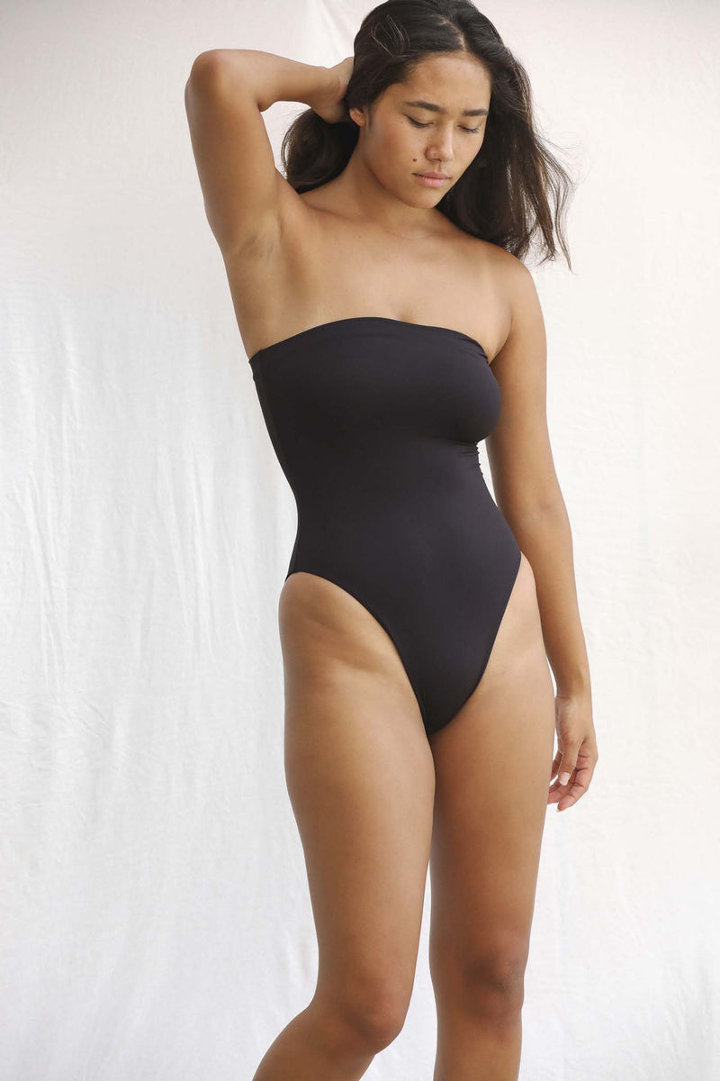 Signature Tube One Piece (Black Bean)