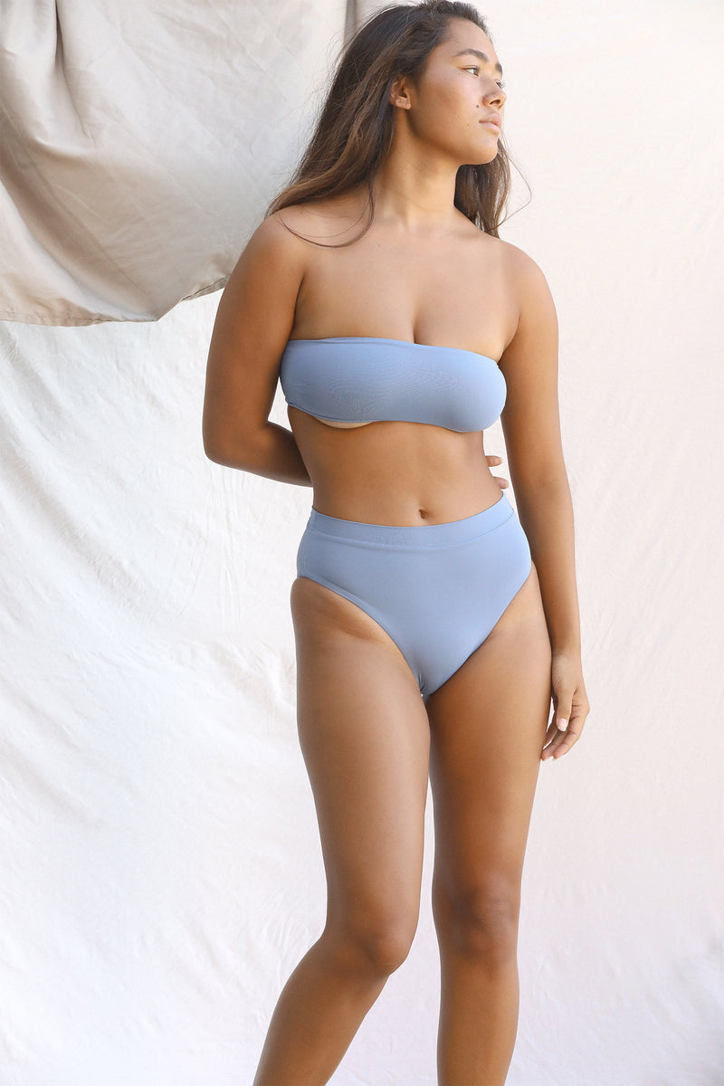 Signature Bandeau Top (Slate)
