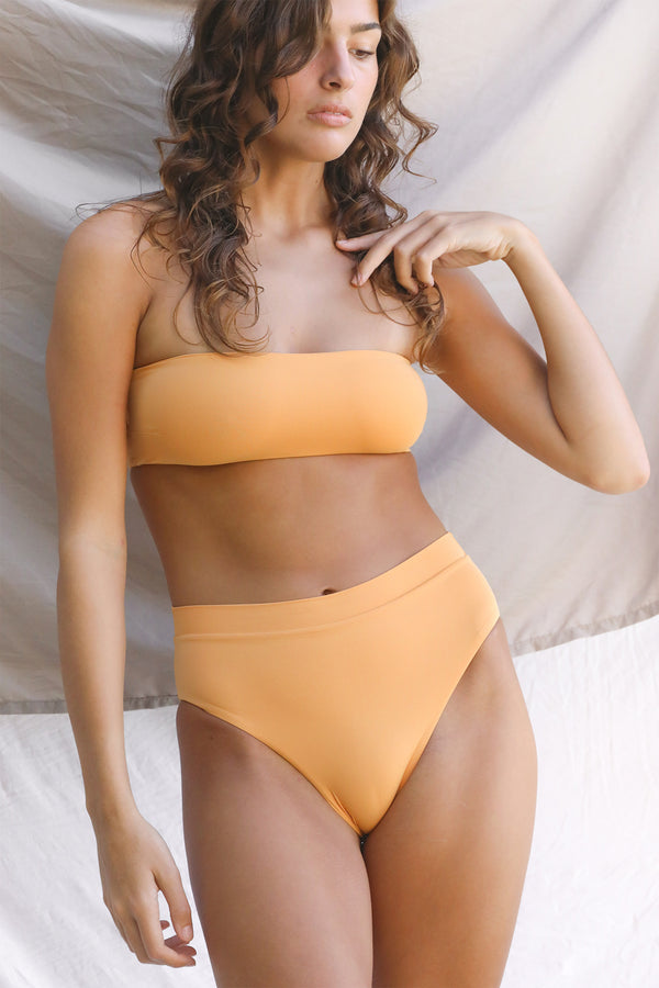 Signature Bandeau Top (Gold Earth)