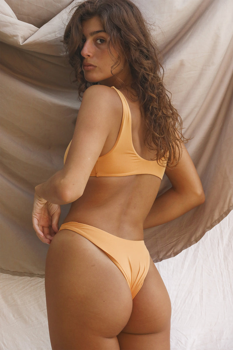 Signature High Hip Bottom (Gold Earth)