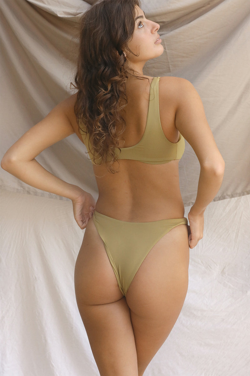 Signature High Hip Bottom (Fennel Seed)