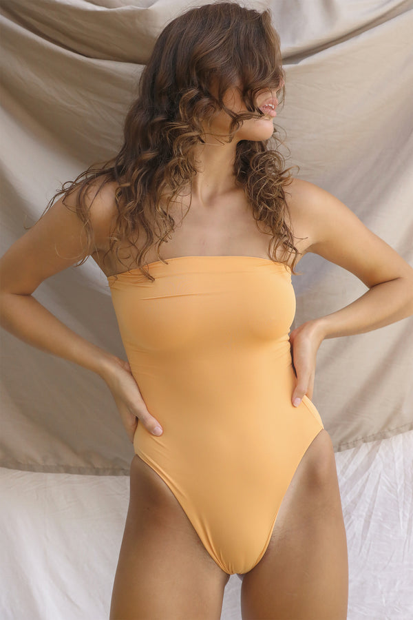 Signature Tube One Piece (Gold Earth)