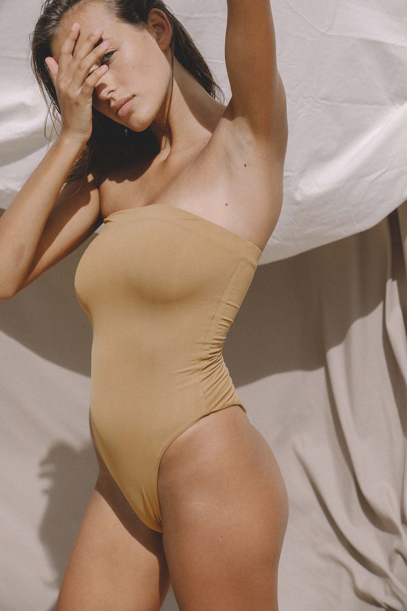 Signature Tube One Piece (Ochre) *FINAL SALE*