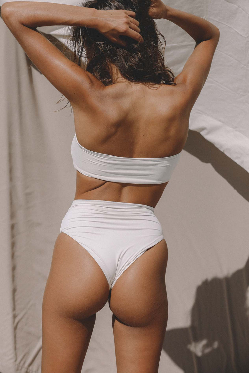 Signature High Waist Bottom (Meringue) *FINAL SALE*