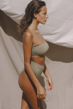 Signature Bandeau Top (Sage) *FINAL SALE*
