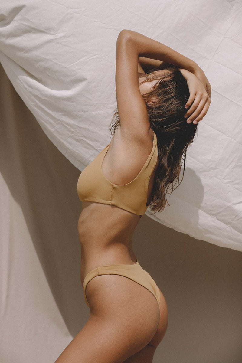 Signature High Hip Bottom (Ochre) *FINAL SALE*