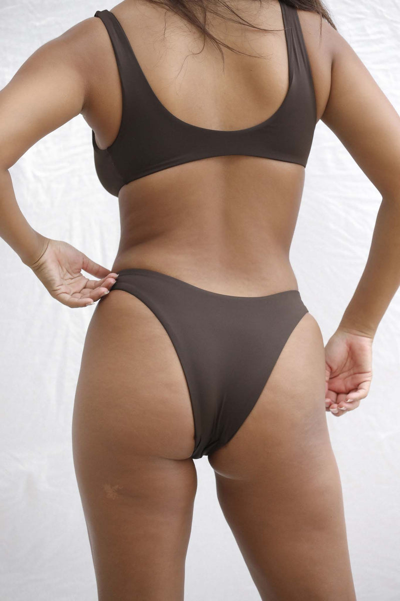 Signature High Hip Bottom (Espresso)