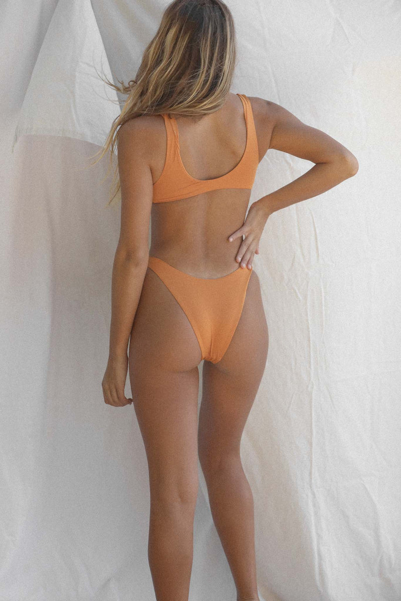 Signature High Hip Bottom (Golden Ochre)