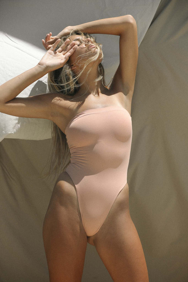 Signature Tube One Piece (Rose Tan) *FINAL SALE*