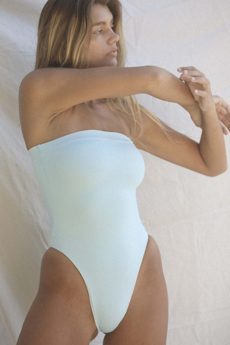 Signature Tube One Piece (Baby Blue)