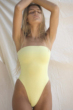 Signature Tube One Piece (Lemon Grass)