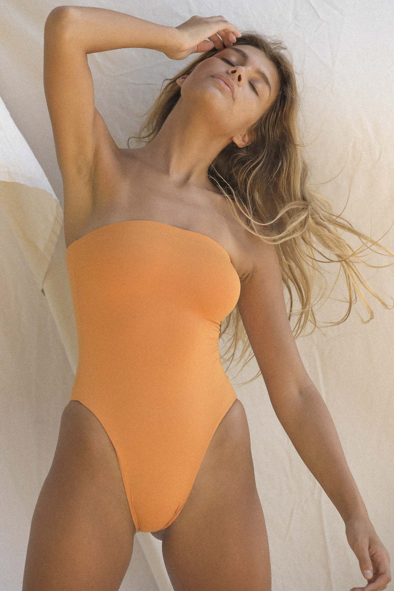 Signature Tube One Piece (Golden Ochre)