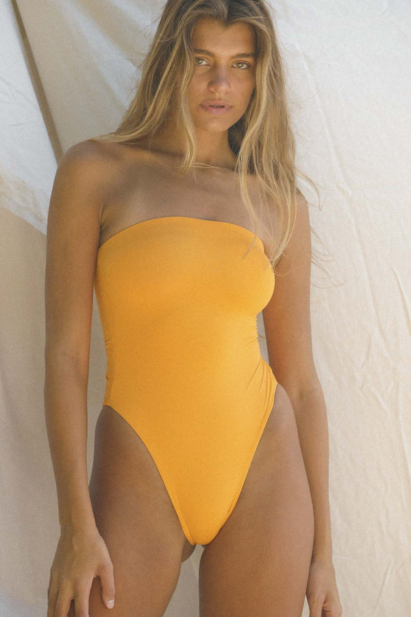 Signature Tube One Piece (Radiant Yellow)