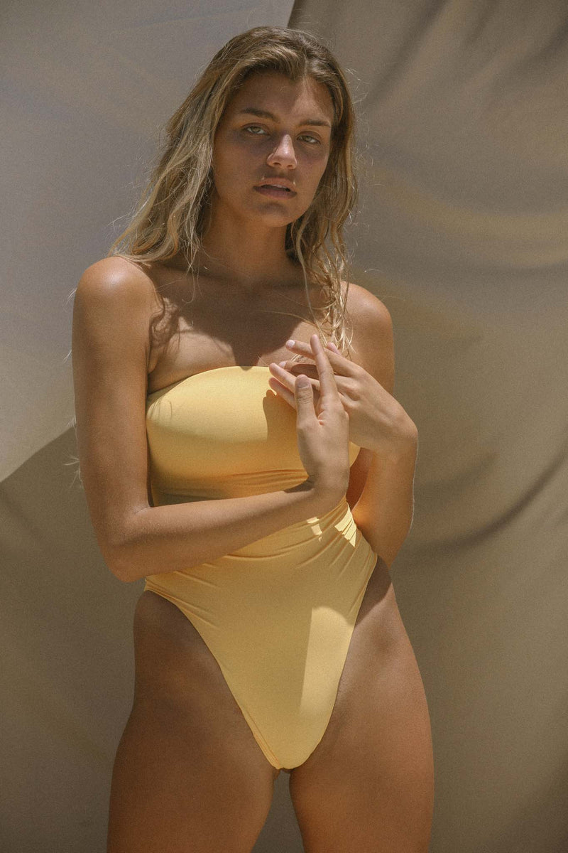 Signature Tube One Piece (Banana) *FINAL SALE*