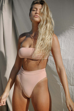 Signature Bandeau Top (Rose Tan) *FINAL SALE*