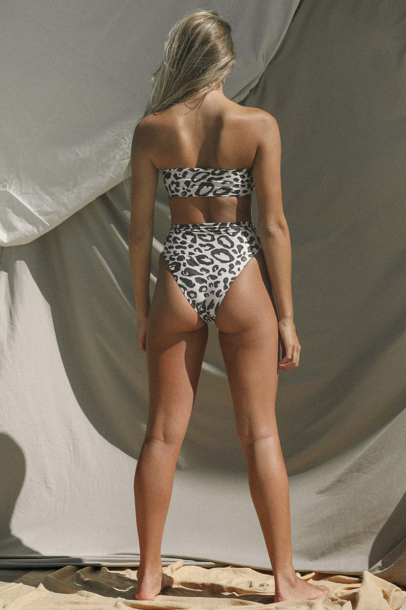 Signature High Waist Bottom (Spot) *FINAL SALE*