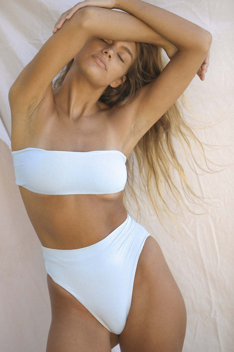 Signature Bandeau Top (Baby Blue)