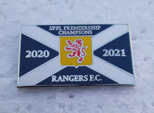 League Champions 2020/2021 Pin Badge