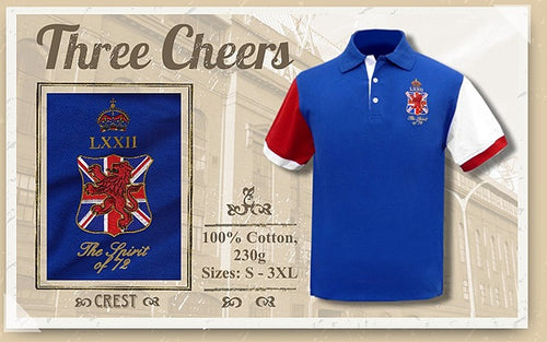 The Spirit of 72 Three Cheers Polo Shirt