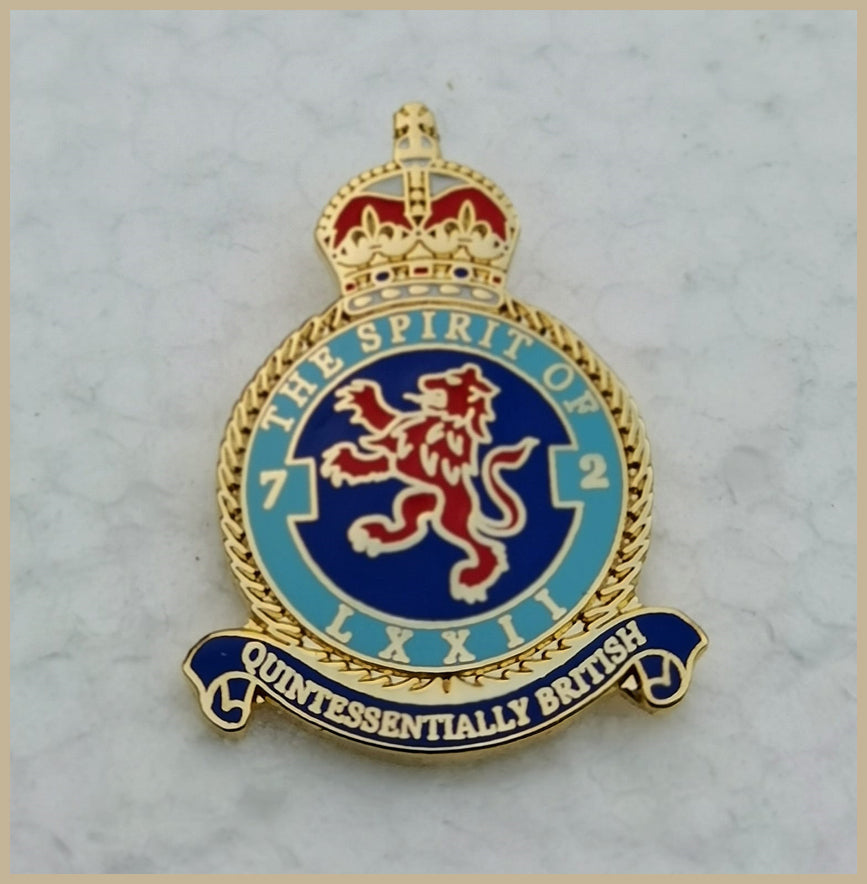 The Spirit of 72 Pin Badge