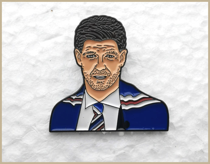 Steven Gerrard Pin Badge