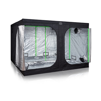 Growbox tenda riflettente in maylard per coltivazioni interne indoor doppia apertura