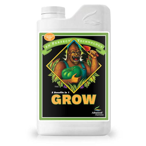 ADVANCED NUTRIENTS GROW - PH PERFECT fertilizzante liquido per maggiore crescita vegetativa