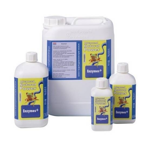 ADVANCED HYDROPONICS - NATURAL POWER ENZYMES+ 250ML Prodotto enzimatico completamente biologico