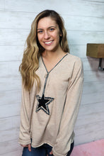 Load image into Gallery viewer, Sassy Star Zip Up