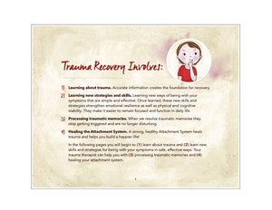 "Trauma Recovery Guidebook for Therapists (11""x14"" Flip Chart)"