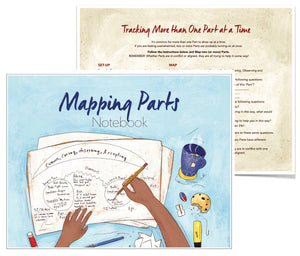 "Mapping Notebook (8.5"" x 11"") - 15% Off for 5 or more!"